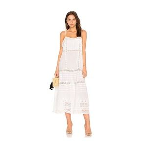 Free people cotton summer  this is it midi dress
